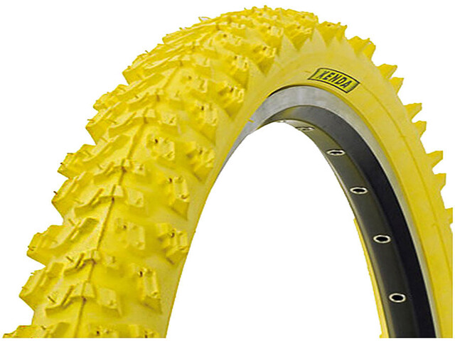 "Kenda K-829 Wired-on Tire 26 x 1,95"" yellow"